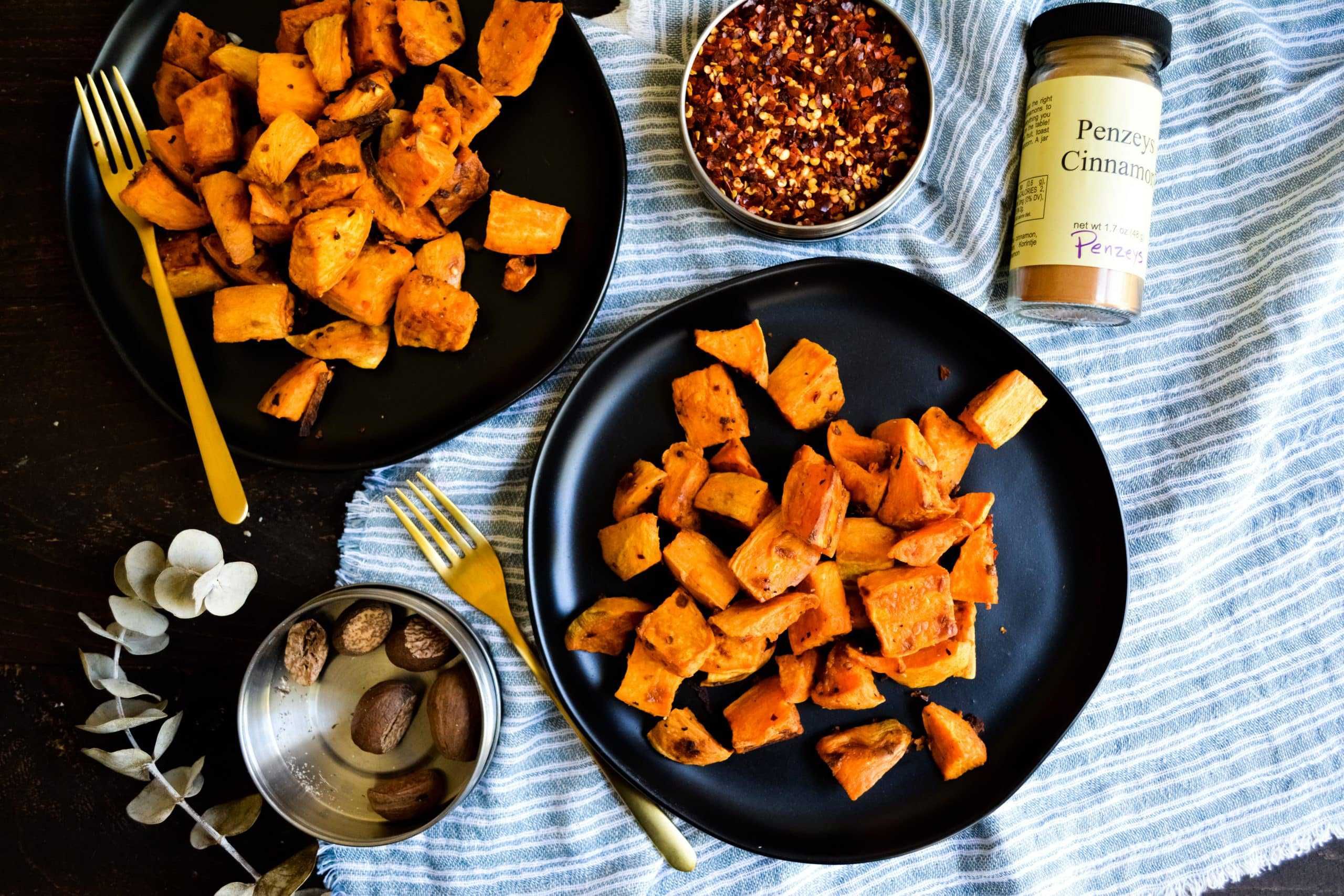 The BEST Roasted Sweet Potatoes