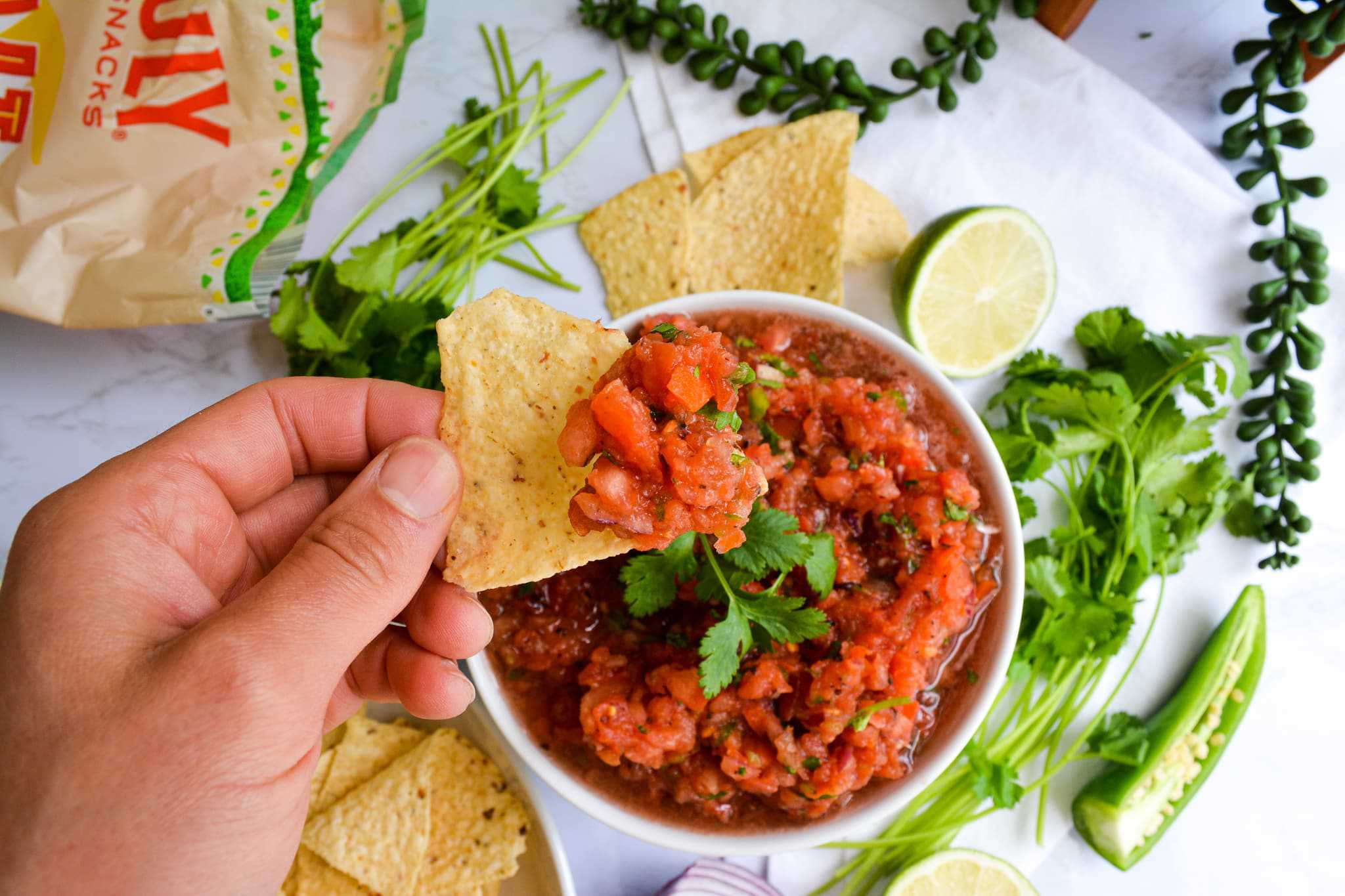 Thick Restaurant Style Salsa