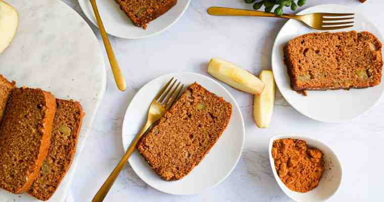 Easy Chai Spiced Apple Loaf