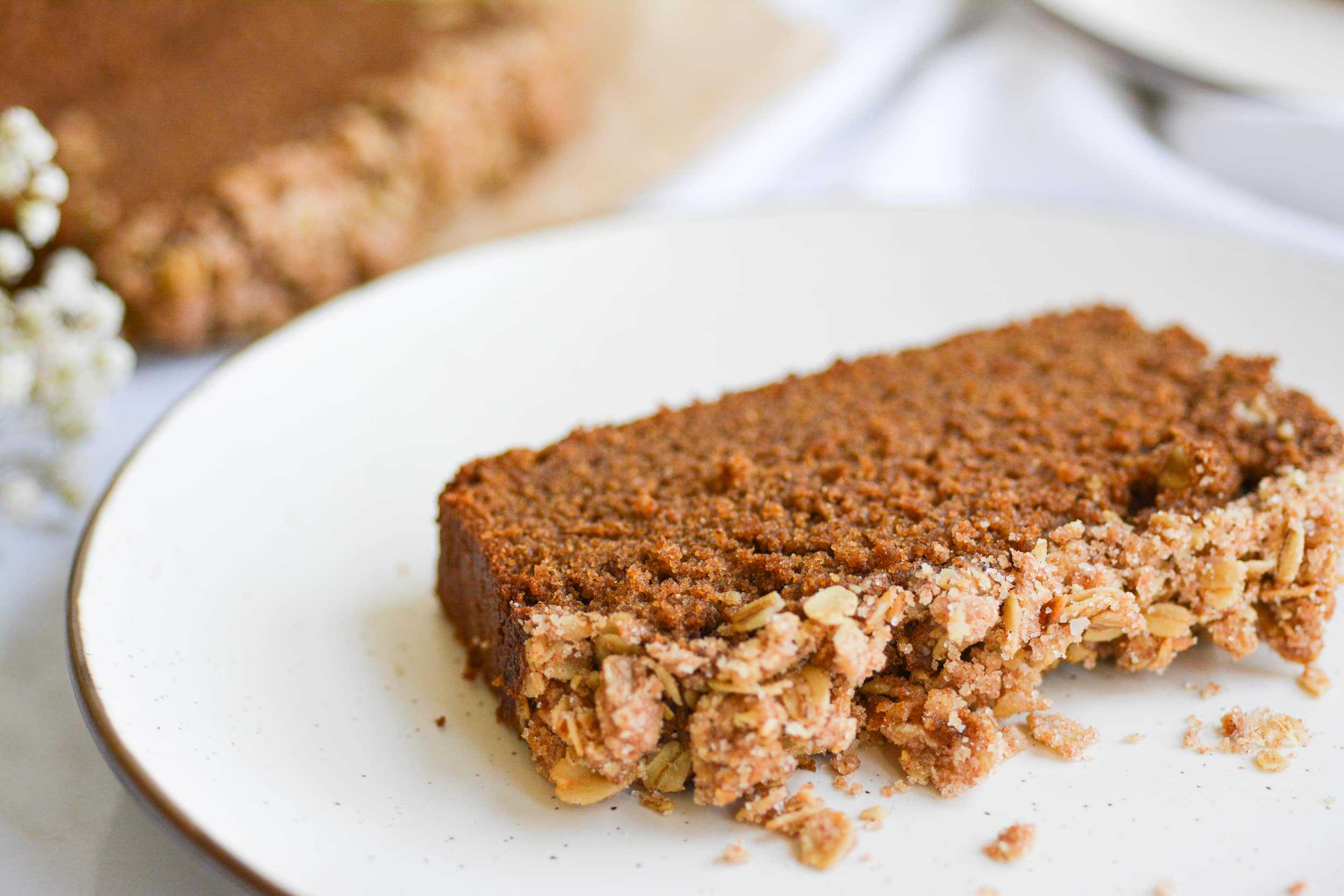 Gingerbread Coffee Cake Loaf– Whole Grain Baking