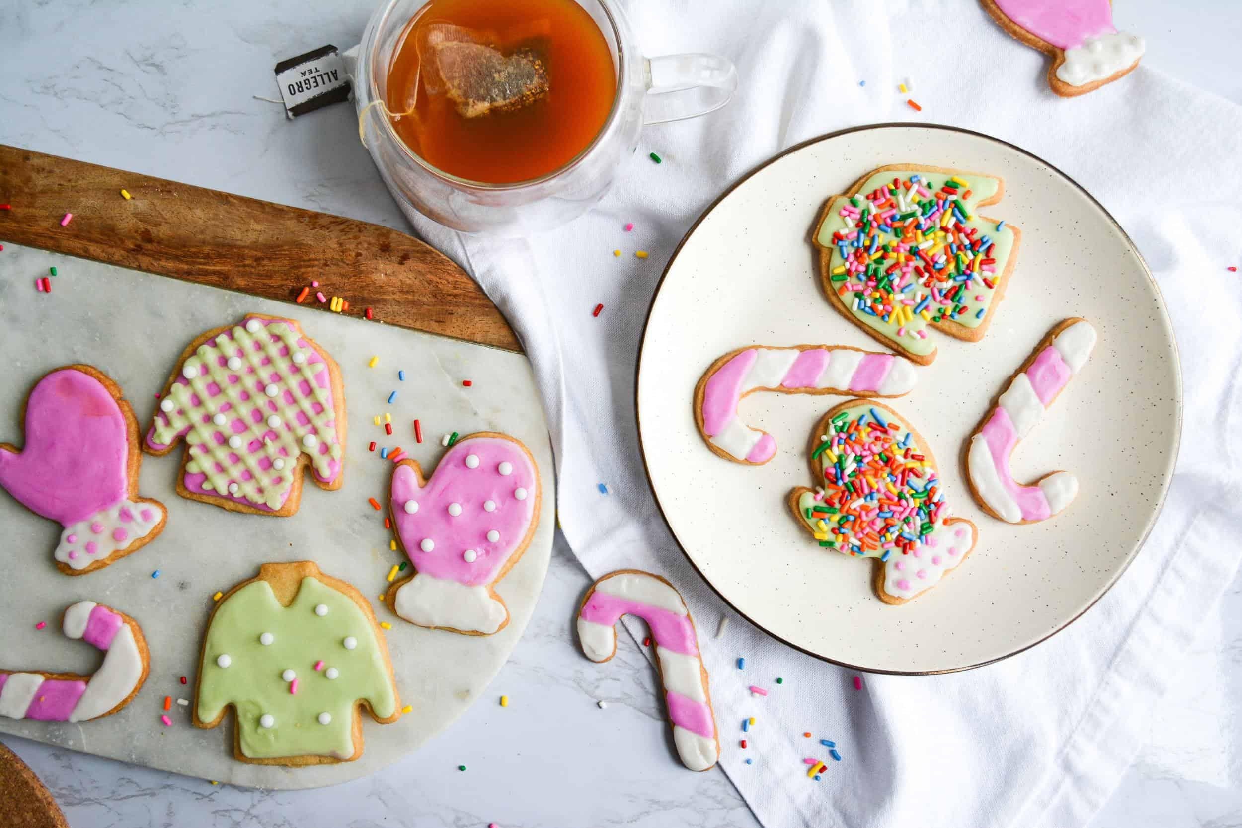 Vegan Cut-Out Holiday Cookies