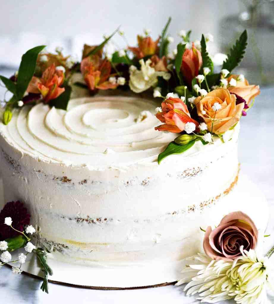 Boston Vegan Wedding Cake