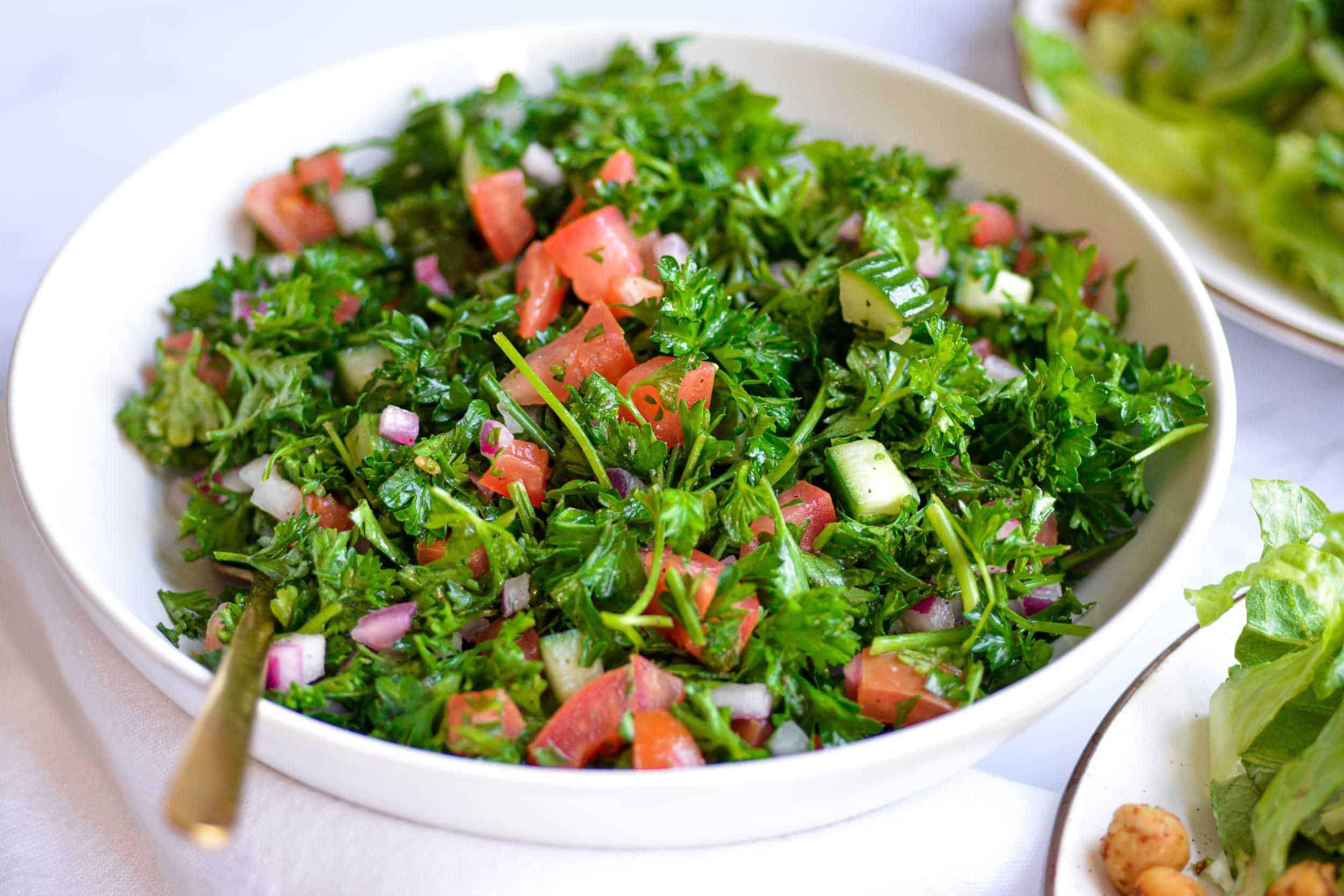 Easy Grain-Free Tabbouleh Salad