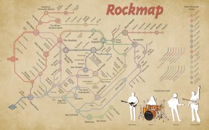 The Subway Map of Rock City – Earthly Mission