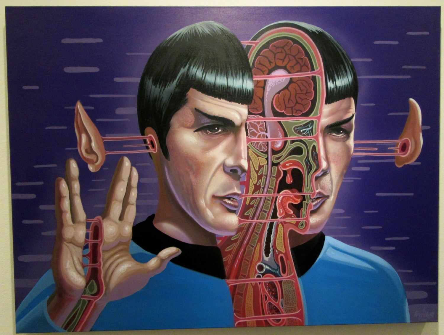 Cutaway Portraits Of Pop Culture Icons By Nychos Earthly