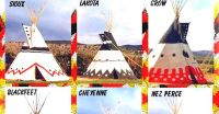 Tepee Designs of Native American Tribes | Earthly Mission