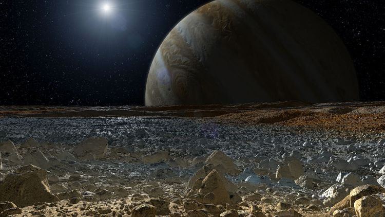Europa's Surface