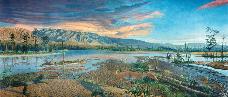 The Late Triassic landscape