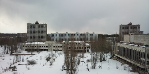 Pripyat City Square