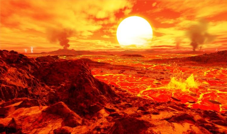Sunrise on a Planet Orbiting Kepler-10