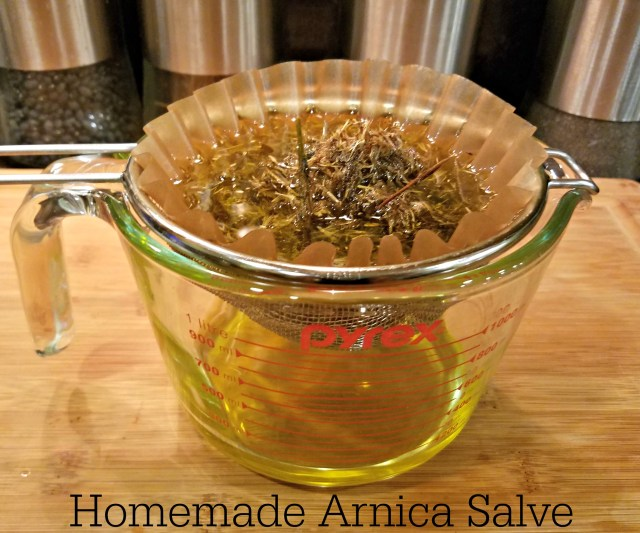 Homemade Arnica Salve Recipe