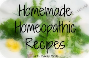 Homemade Homeopathy Recipes
