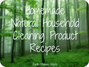 Homemade Natural Household Cleaner Recipes