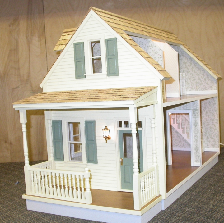 Woodwork Dollhouse Materials PDF Plans
