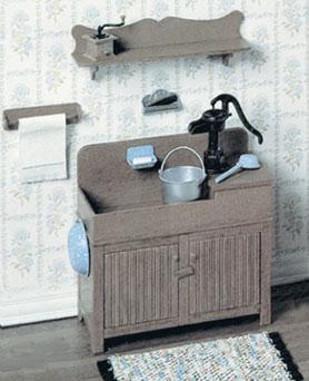 F310 Kitchen Dry Sink Plastic Kit CB2117  1380