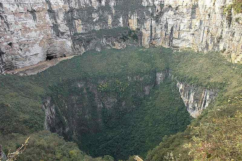 Xiaozhai Tiankeng (Heavenly Pit), China