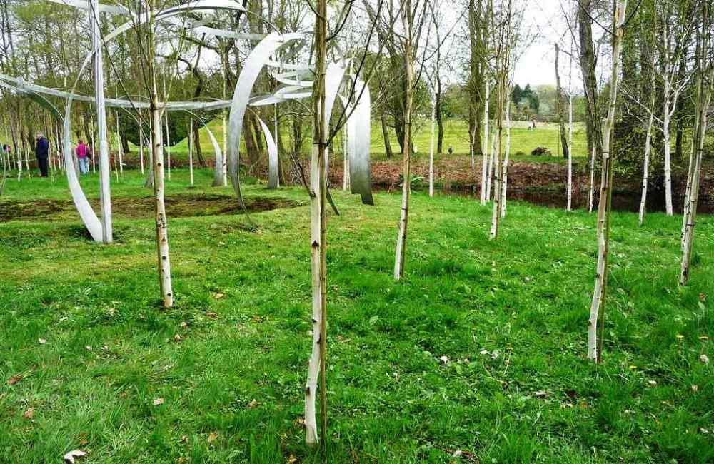 The Garden of Cosmic Speculation, Scotland