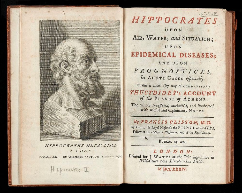 Hippocrates, Physician