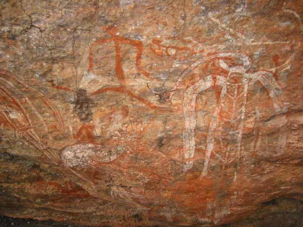 Kakadu Rock Paintings