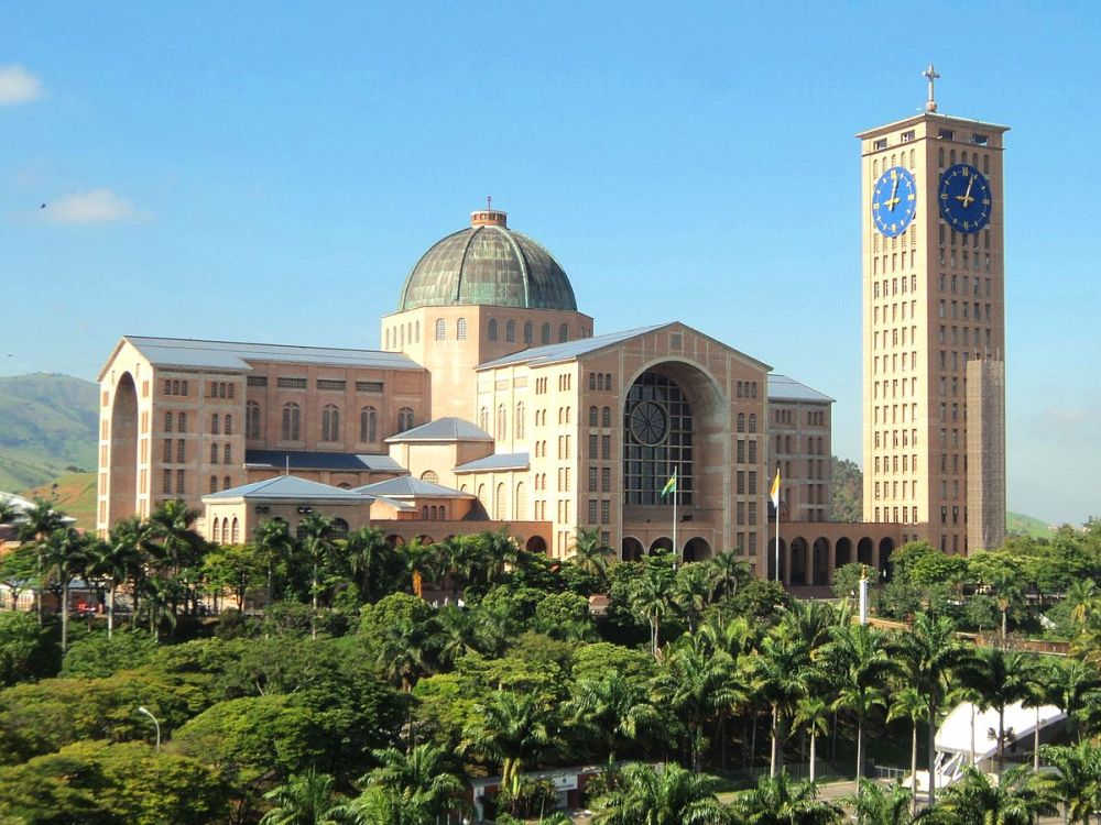 Basilica of the National shrine of our lady of Aparecida, Brazil