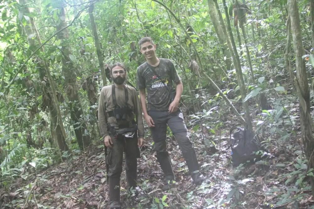 Alexander Zaidan (left) and Marcos Rezende Peres (right)