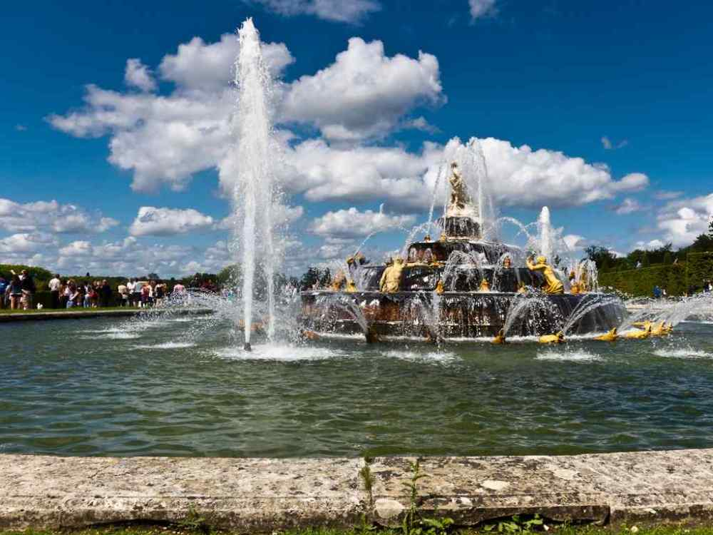 Latona Fountain, Palace of Versailles, (France)