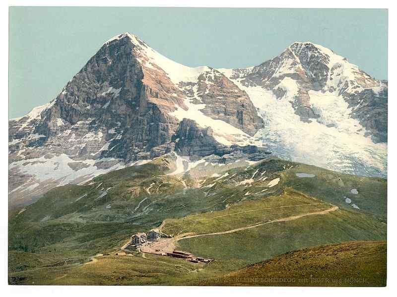 MOUNT EIGER, SWITZERLAND