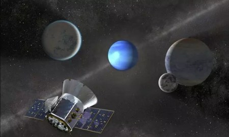 NASA's TESS mission has already uncovered two exoplanets, and it's hoped more will be discovered.