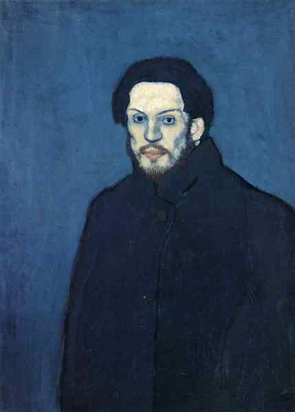 "Pablo Picasso – ""Self-portrait"", 1901"