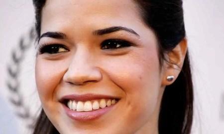 America Ferrara's smile