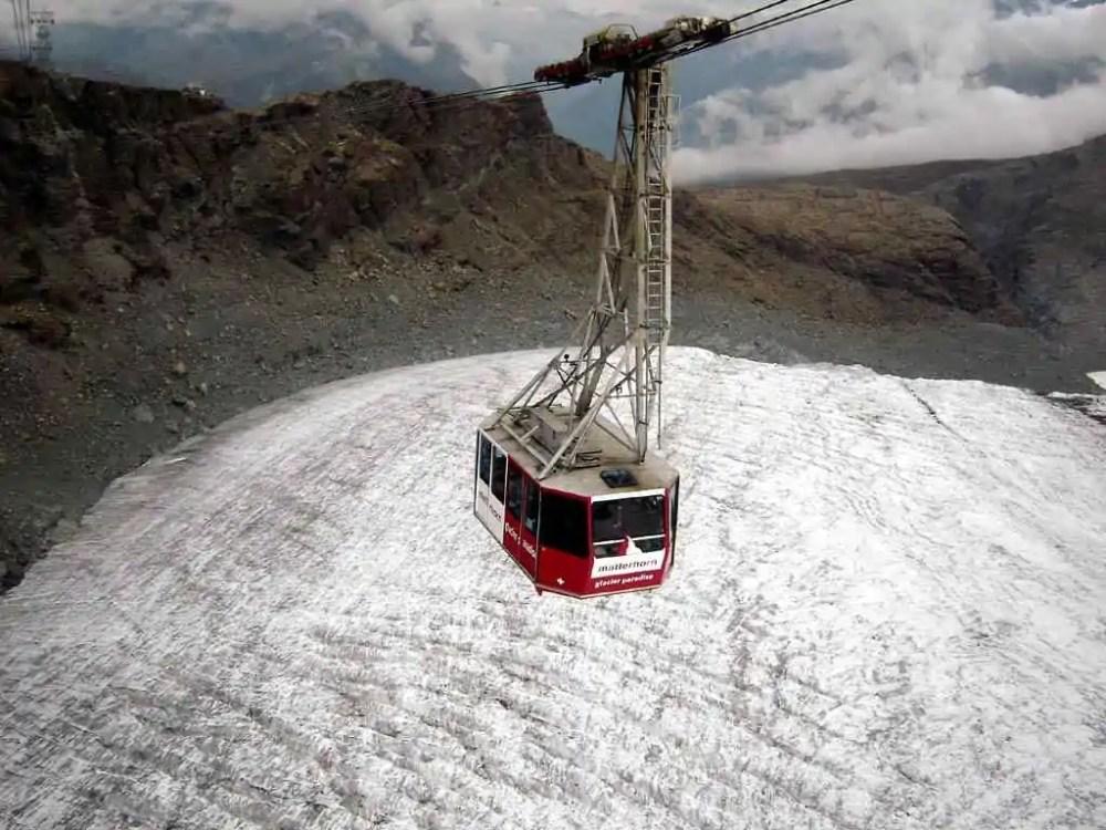 Klein Matterhorn Aerial Lift, Switzerland