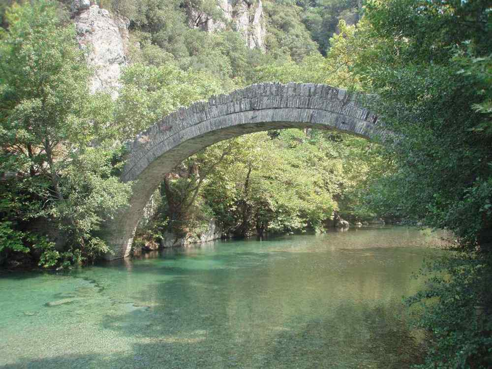 Konitsa Bridge, Greece