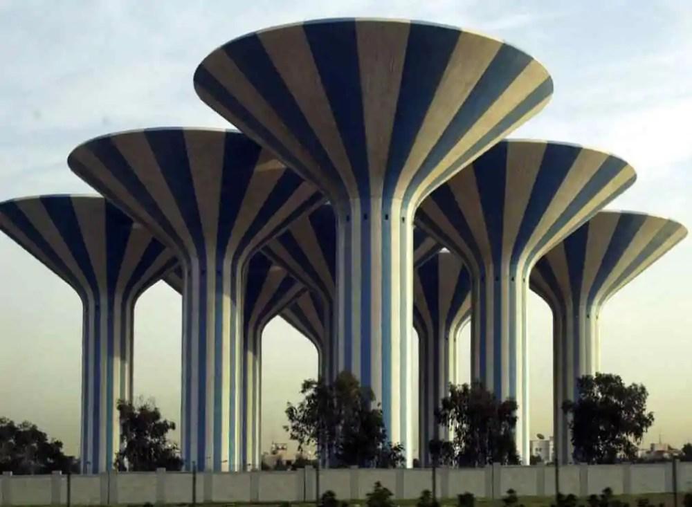 Kuwait City water towers, Kuwait City, Kuwait