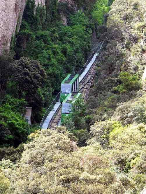Sant Joan Funicular, Spain