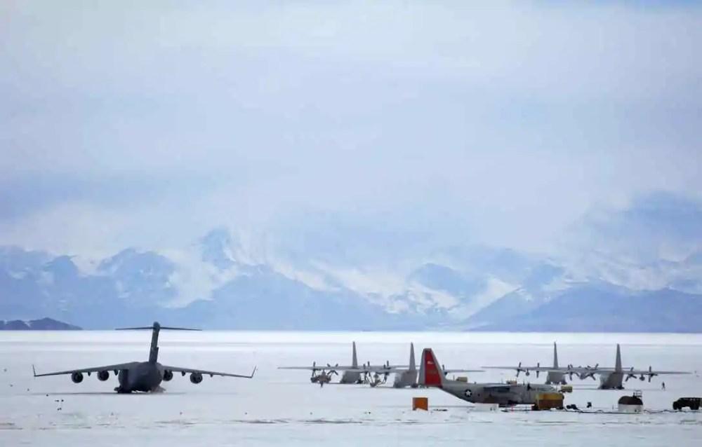 Sea Ice Runway, Antarctica