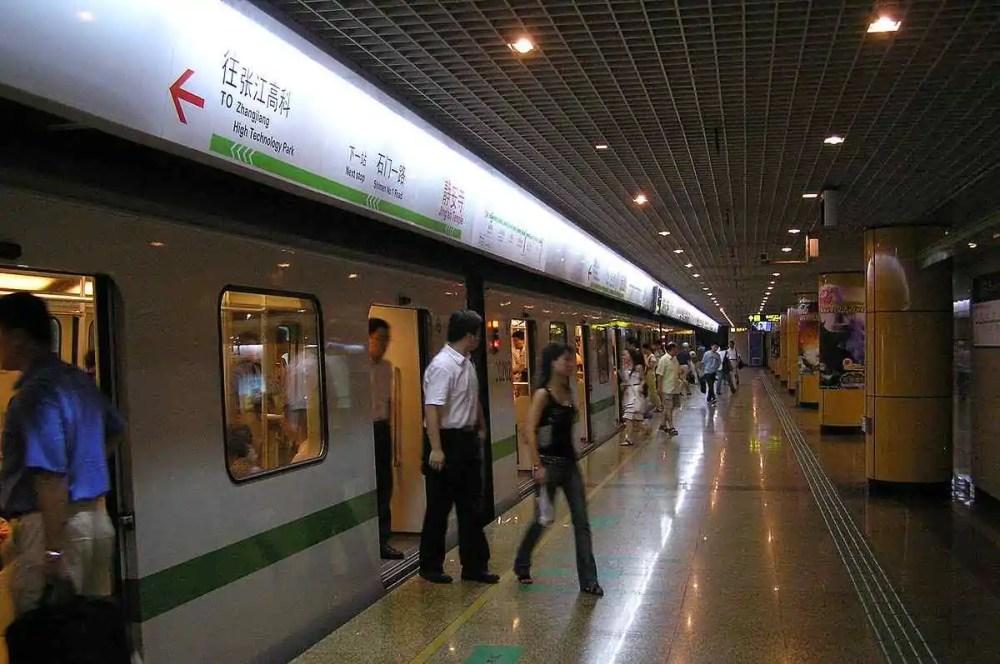 Shanghai Metro, China
