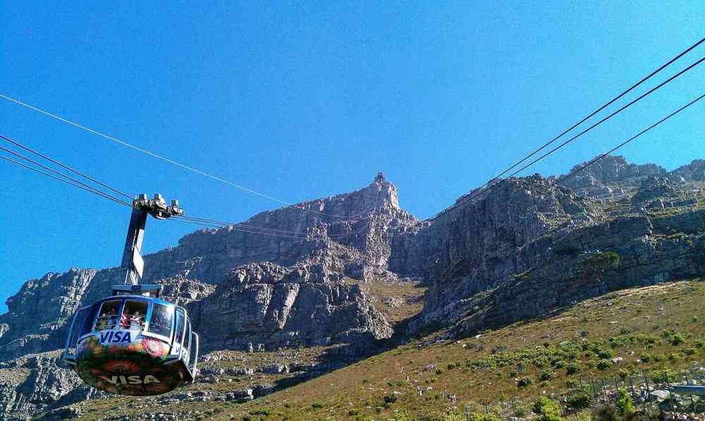 Table Mountain Aerial Lift, South Africa