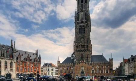 Belfry of Bruges, Belgium