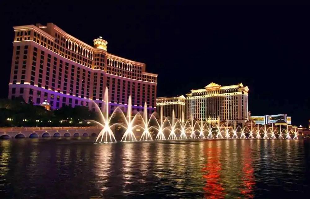 Bellagio Resort and Fountain Show