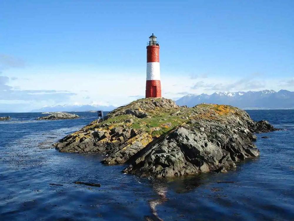 Les Eclaireurs lighthouse, Argentina