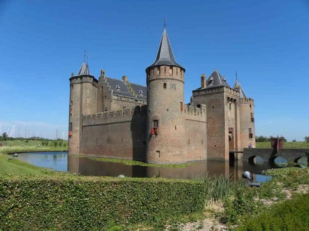 Muiderslot Castle, Muiden, Netherlands