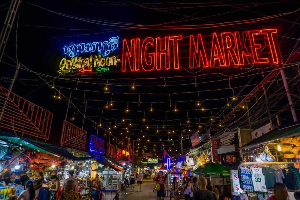Phnom Phen Night Market