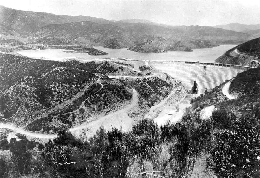 St. Francis Dam flooding
