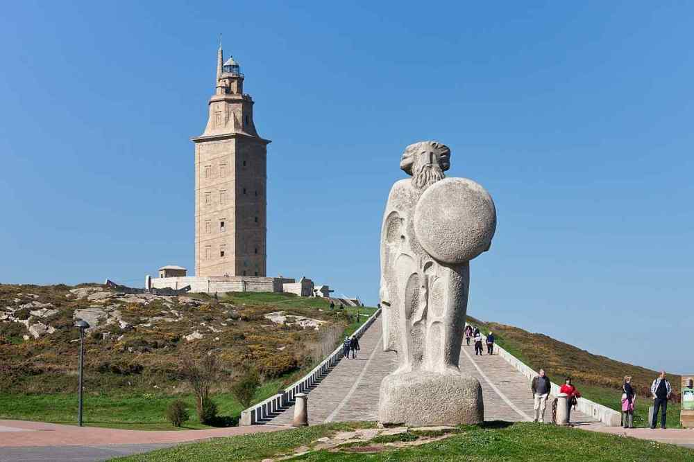 Tower of Hercules, Spain