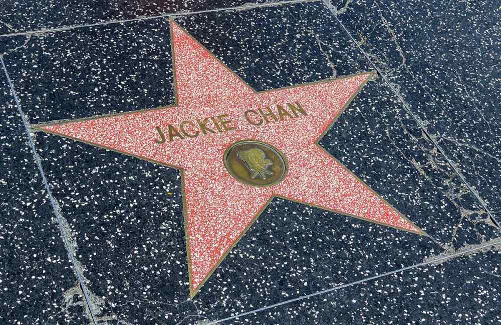 Hollywood walk of fame, Los Angeles, USA