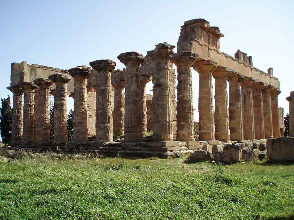 TEMPLE OF ZEUS AT CYENE