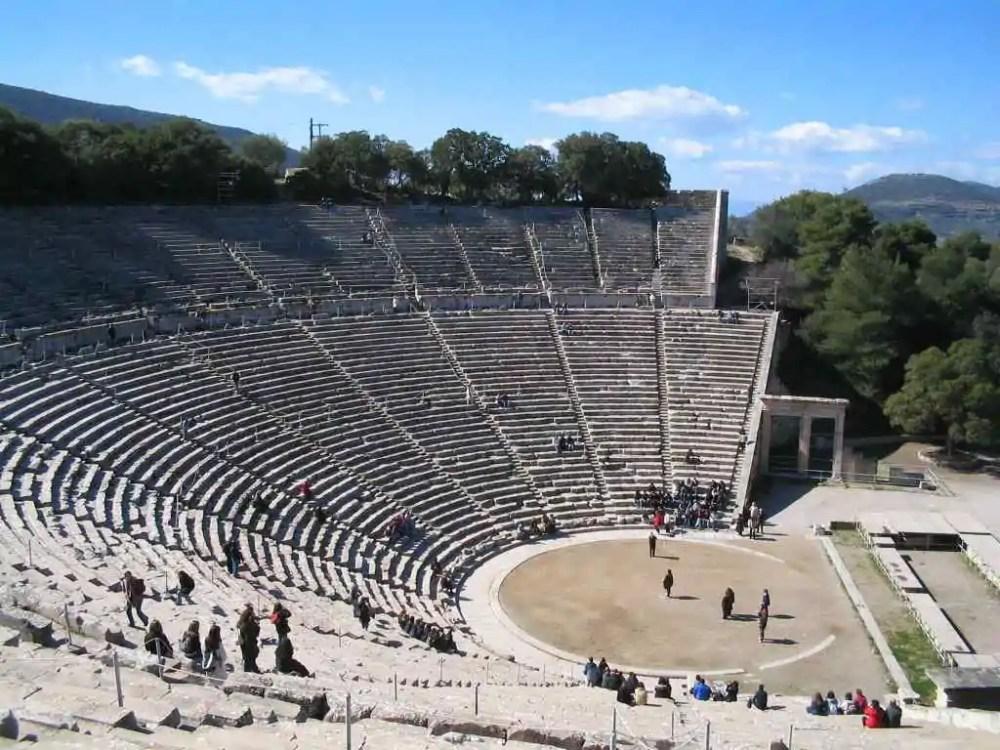 THE THEATER OF EPIDAURUS, Greece
