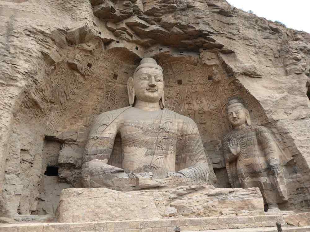 YUNGANA GROTTES, Buddhist temple in Datong, China