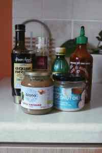 Coconut oil and other sauces