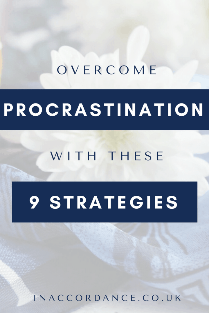 Overcome procrastination and get more things done using these 9 practical and effective strategies!